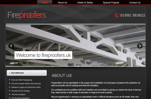 fireproofers.uk