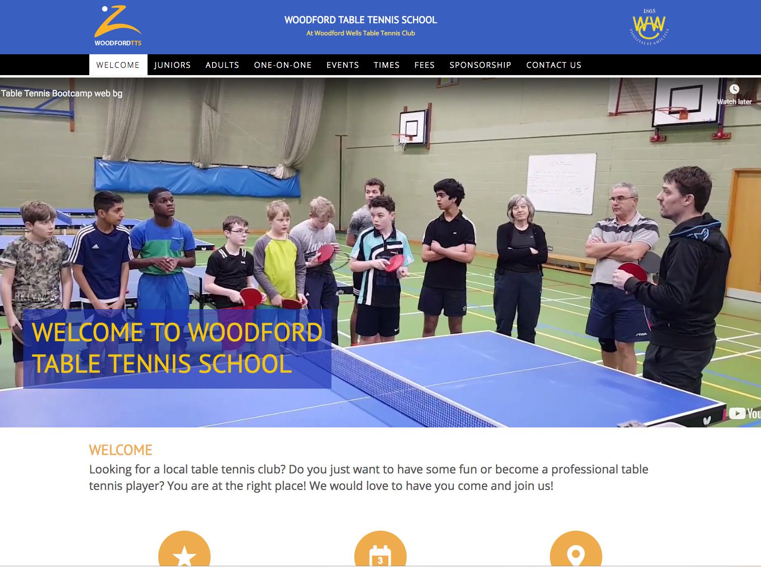 Woodford TTS website