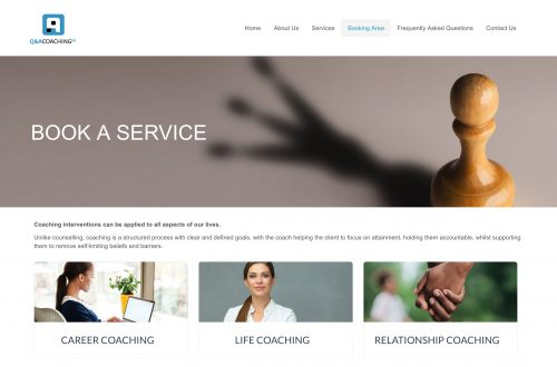 Q&A Coaching - Booking area